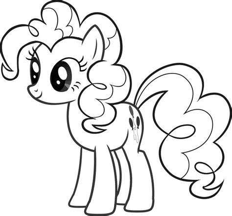 Pinkie Pie Coloring Page by Pinkie Pie Coloring Page Coloring Home