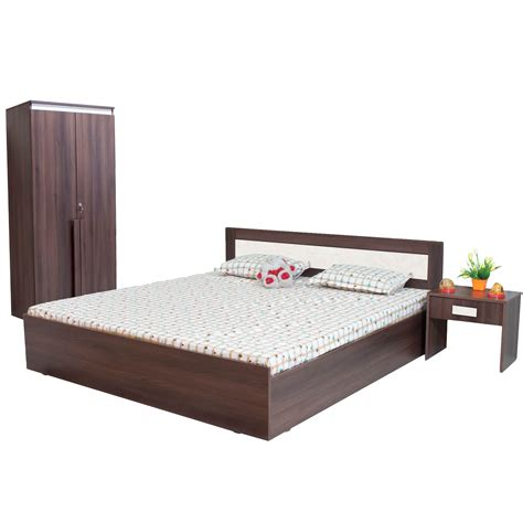 Cost Of Bed by Furnitech King Size Without Storage Bedroom