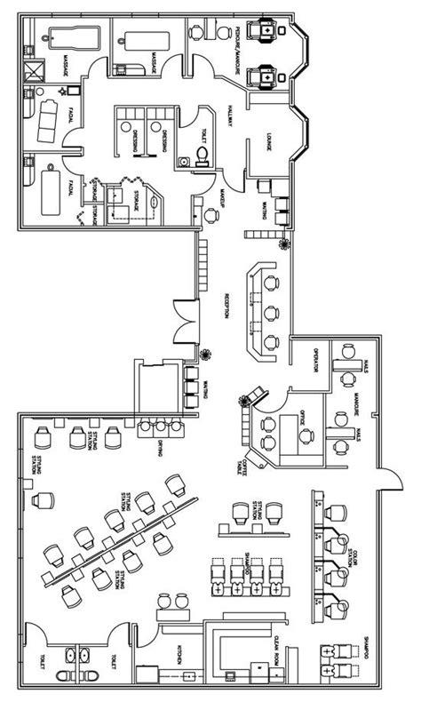 salon spa floor plan design layout 3105 square foot 1000 images about salon floor plans on pinterest beauty