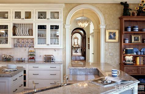 Kitchen Door Arch Design 厨房拱形门洞 土巴兔装修效果图