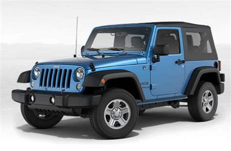 Jeep Color Options Color Options For 2016 Jeep Wrangler Autos Post