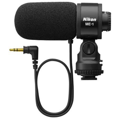 nikon me 1 stereo microphone for any nikon dslr w/ 3.5mm