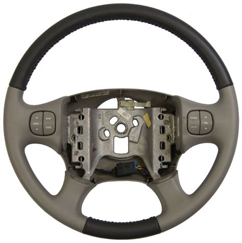 buick rendezvous steering wheel  tone grey leather waudio switches