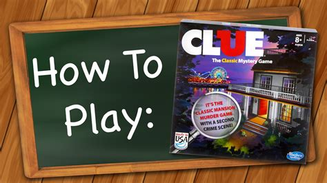 how to play clue youtube