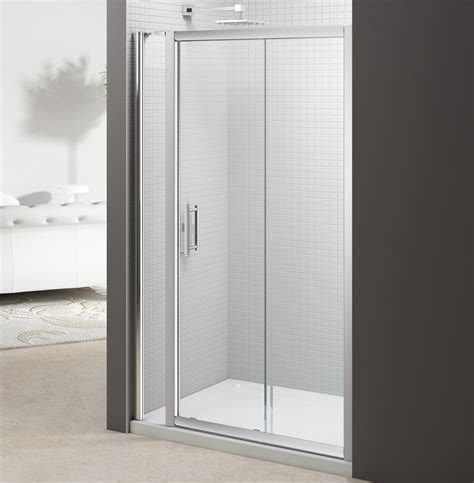 1100mm Sliding Shower Door Merlyn 6 Series 1100mm Sliding Door And 140mm Inline Panel M68251p1h