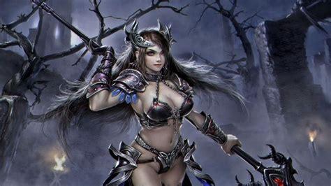 women warrios art inessa girl warrior wallpaper