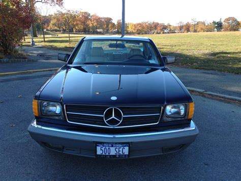 how cars work for dummies 1984 mercedes benz s class on board diagnostic system 1984 mercedes benz 500sec for sale 2013572 hemmings motor news