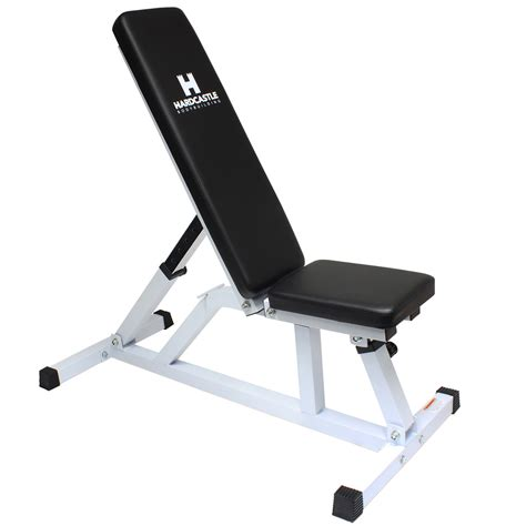 flat training bench white adjustable flat incline home gym dumbbell workout