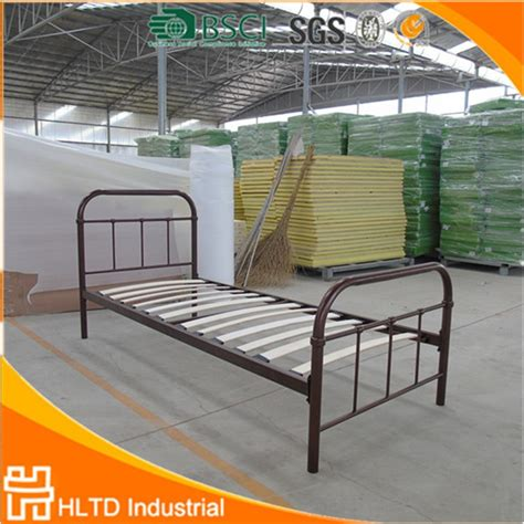 Tempat Tidur Besi 6 Kaki 2017 populer desain logam besi tempat tidur tunggal buy