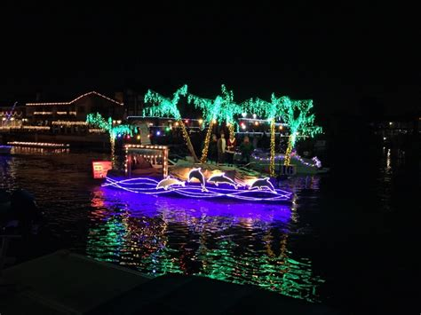 huntington harbor cruise of lights boat parade last week to kick off cruiseoflights in