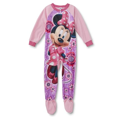 Minnie Mouse Sleeper by Disney Baby Minnie Mouse Toddler Sleeper Pajamas