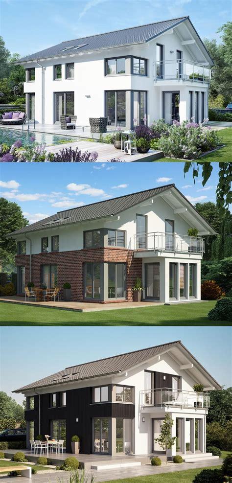 Fertighaus Klinker by Fassadengestaltung Einfamilienhaus Mit Satteldach Fassade