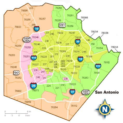 zip code map san antonio san antonio zip codes surrounding areas pictures to pin on pinsdaddy