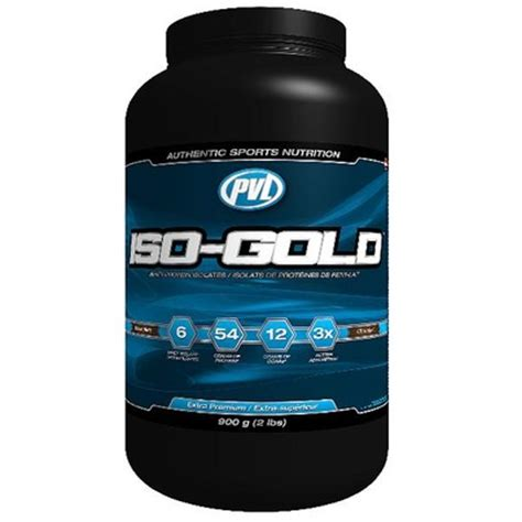 Whey Isogold Buy Pvl Iso Gold Premium Whey Protein Isolate 900 G