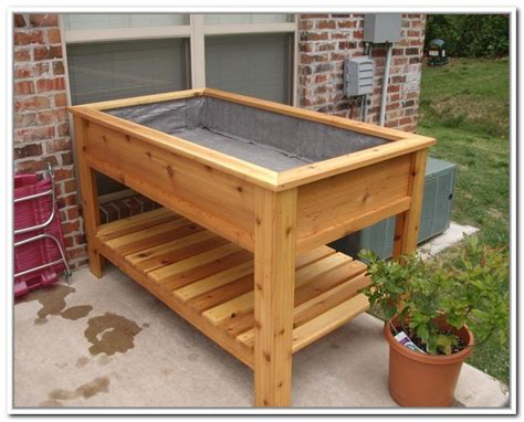elevated planter box garden design 73772 garden inspiration ideas