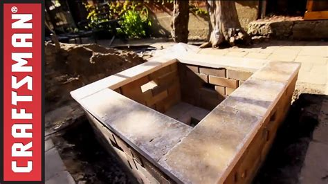 building a firepit in your backyard how to build a fire pit in your backyard craftsman my crafts and diy projects