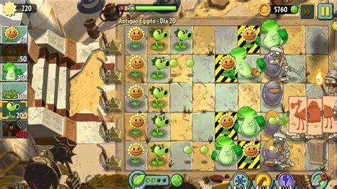 Plants Vs 21 plants vs zombies 2 antiguo egipto dia 19 20 21