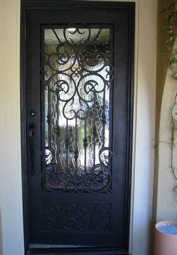 Iron And Glass Front Doors Front Doors With Iron For And Glass Remodel 5 Sakuraclinic Co