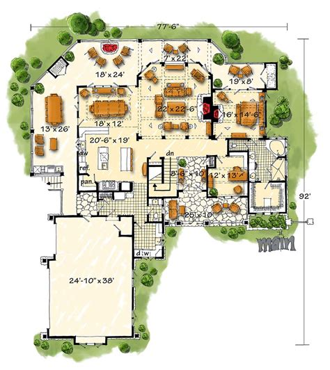 high end home plans high end mountain house plan with finished lower level