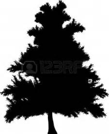 silhouette of pine trees clipart best
