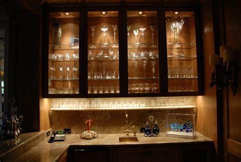 Cabinet Lighting   Contemporary   Wine Cellar   Houston