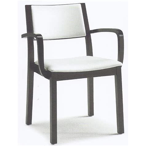 Black And White Armchair by Montbel Collection Sintesi White And Black Armchair 01522