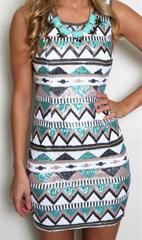tribal pattern onesie turquoise and white tribal print dress fashion