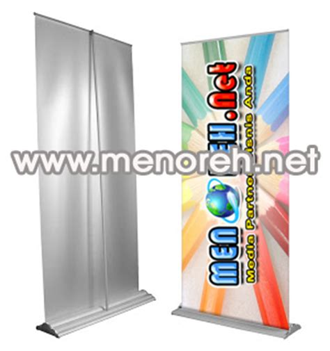 Mini X Banner Agen Brilinks Media Promosi jasa pembuatan spanduk murah media promosi bisnis jasa marketing