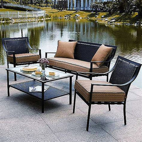 Outdoor Patio Furniture Sets Furniture All Weather Garden Furniture All Weather Resin Wicker Patio Patio Chairs Clearance