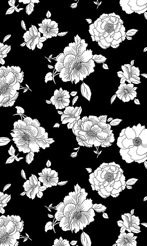 black and white floral wallpaper b q floral black and white wallpaper top backgrounds