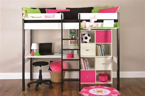 bunk beds for with desk metal futon bunk beds wit stairs desk slide walmart