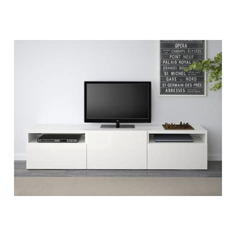 ikea besta white gloss best 197 tv bench white selsviken high gloss white 180x40x38 cm ikea