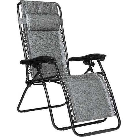 walmart no gravity chair camco regular zero gravity chair black walmart