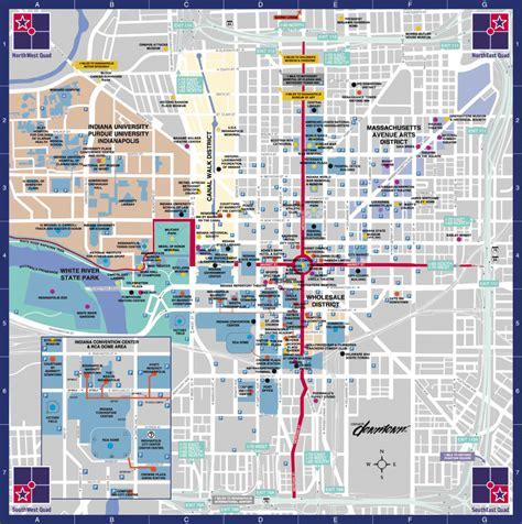 indianapolis indiana usa map map of indianapolis indiana travelsmaps