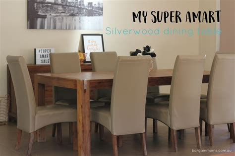 silver wood dining table how i furnished my house on a budget bargain mums
