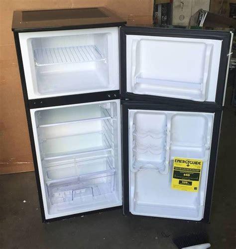 vissani  cu ft mini refrigerator  stainless