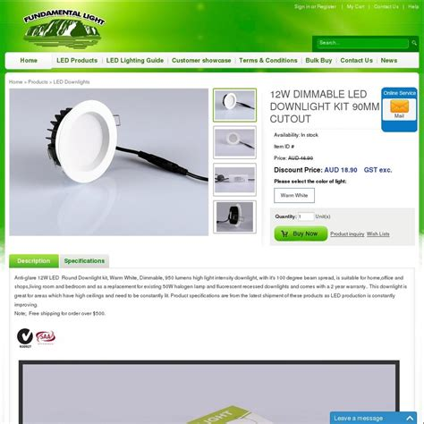 Downlight Led Philips 44080 Series 25 White Berkualitas 20 discount 12w dimmable led downlight kit 90mm cutout 18 9 e 10 delivery up to 10