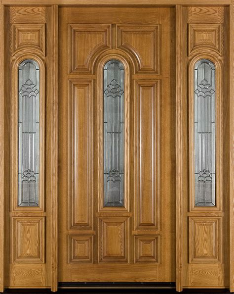 Door Exterior Solid Exterior Wood Doors For Your House Furniture Design Ideas