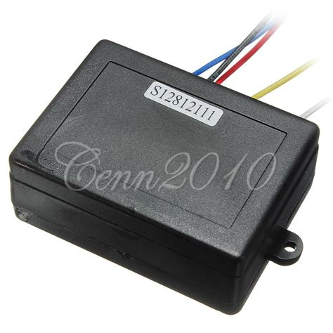 12v electric winch wireless remote system for auto