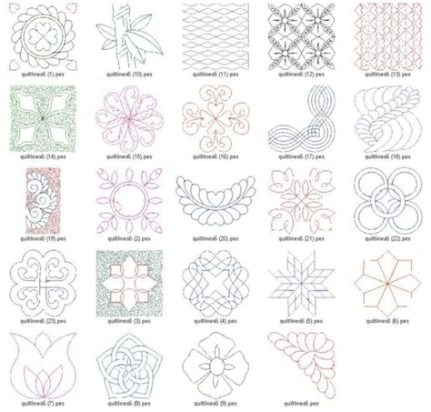 17 free machine quilting designs images free motion