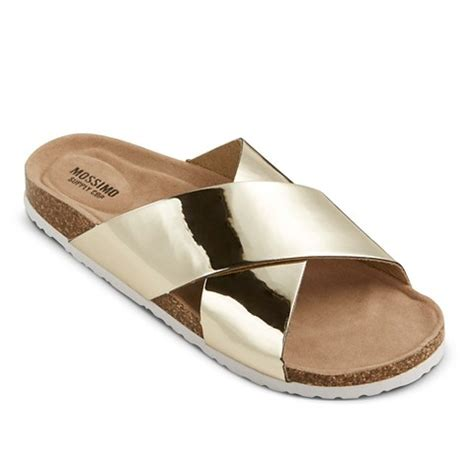 target womens sandals s doris footbed sandals mossimo supply co