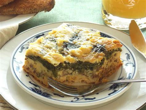 slow cooker eggs florentine breakfast casserole my clean kitchen