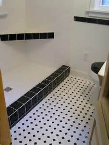 Bathroom Tiles Black And White Ideas 30 Pictures Of Bathroom Design With Large Subway Tile