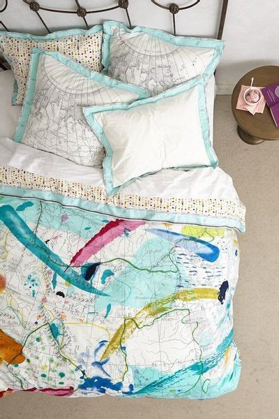 World Map Bedding by World Map Bedding Great Colors Bedroom Inspiration