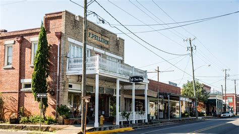 small country towns south s best small towns southern living