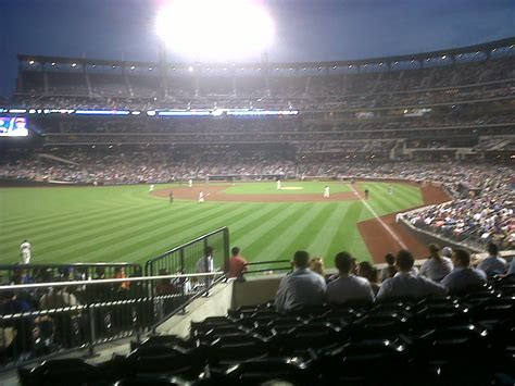 citi field section 337 the view from your seat mets vs nationals 7 23 12
