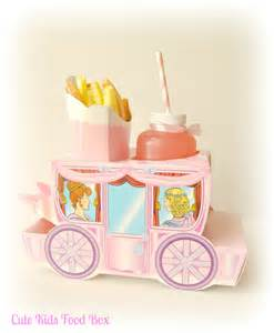 Princess Carriage Favors by Princess Carriage Food Boxes Princess Favor By Cutekidsfoodbox