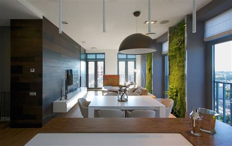 Apartment Vertical Garden Vertical Garden Walls Add To Apartment Interior