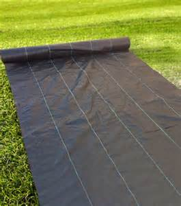 6ft width 3 2oz heavy duty weed barrier fabric