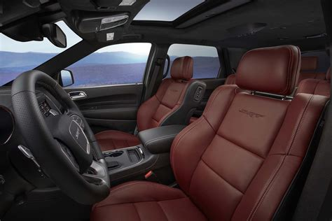 durango srt interior 2018 dodge durango srt look automobile magazine